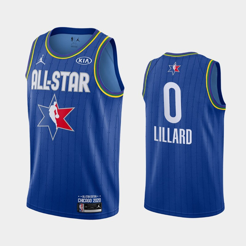 Men's Houston Rockets 2020 NBA All-Star Game Russell Westbrook Finished Jersey - Blue