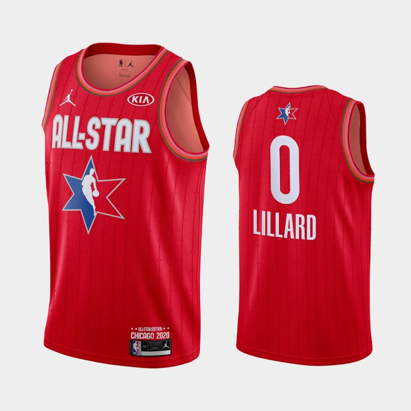 Men's Houston Rockets 2020 NBA All-Star Game Russell Westbrook Finished Jersey - Red