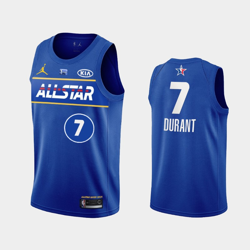 Brooklyn Nets Kevin Durant 2021 NBA All-Star Eastern Jersey - Blue