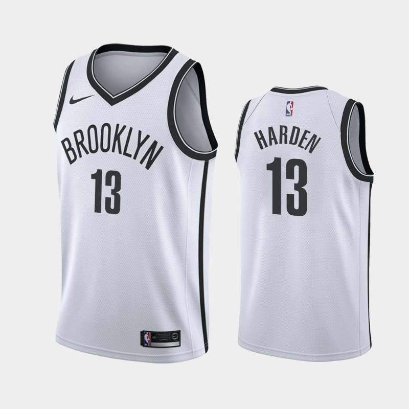 Brooklyn Nets James Harden 2020-21 Association Jersey - White
