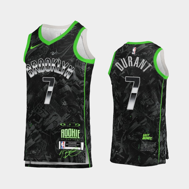 Brooklyn Nets Kevin Durant MVP Jersey - Black