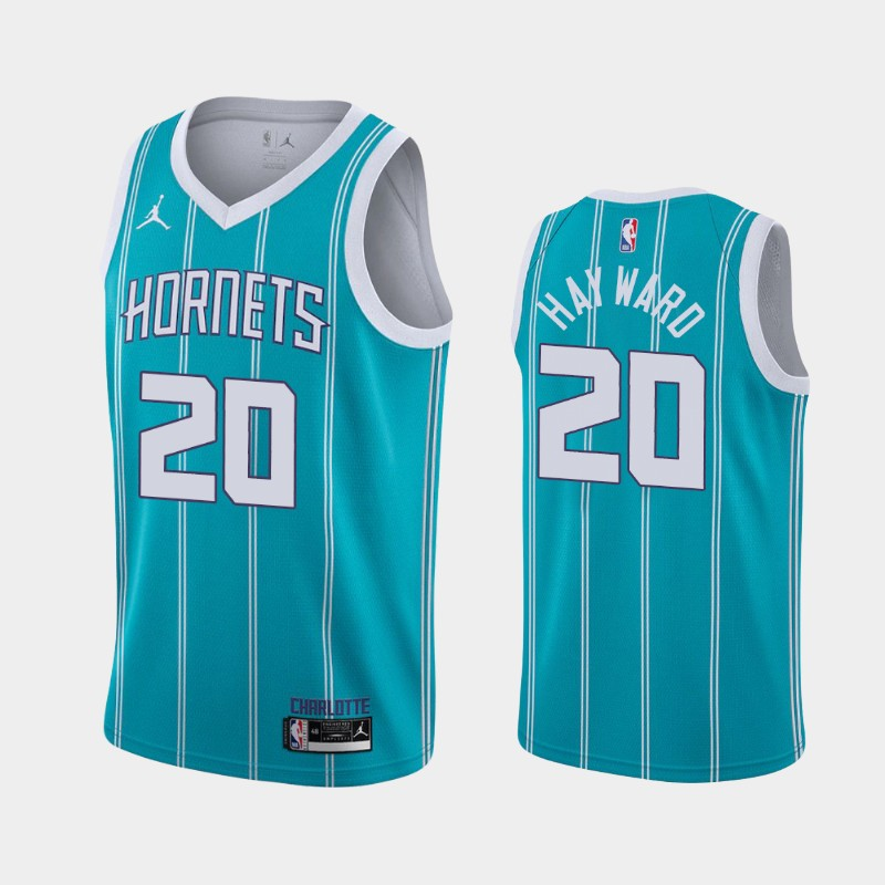 Charlotte Hornets Gordon Hayward 2020-21 Icon Jersey - Teal