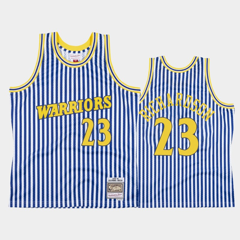 Jason Richardson Golden State Warriors Striped HWC Jersey
