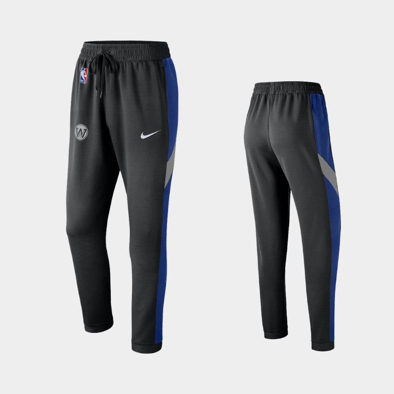 Golden State Warriors 2019-20 Earned Edition Showtime Performance Pants - Black