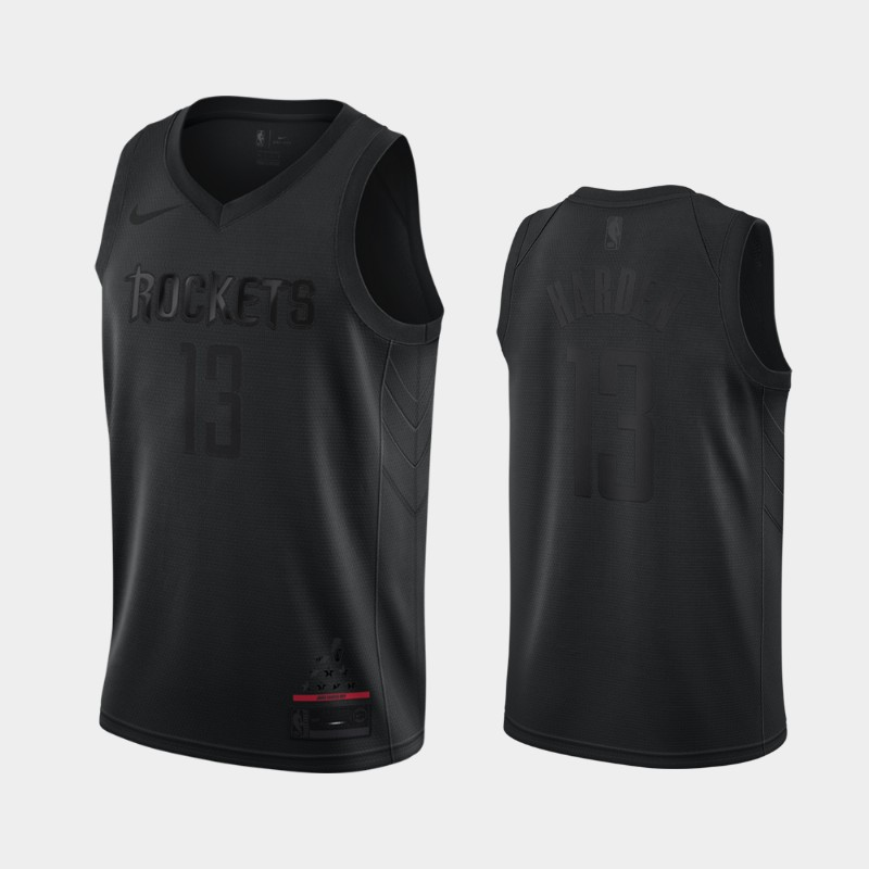 Rockets James Harden MVP Jersey - Black