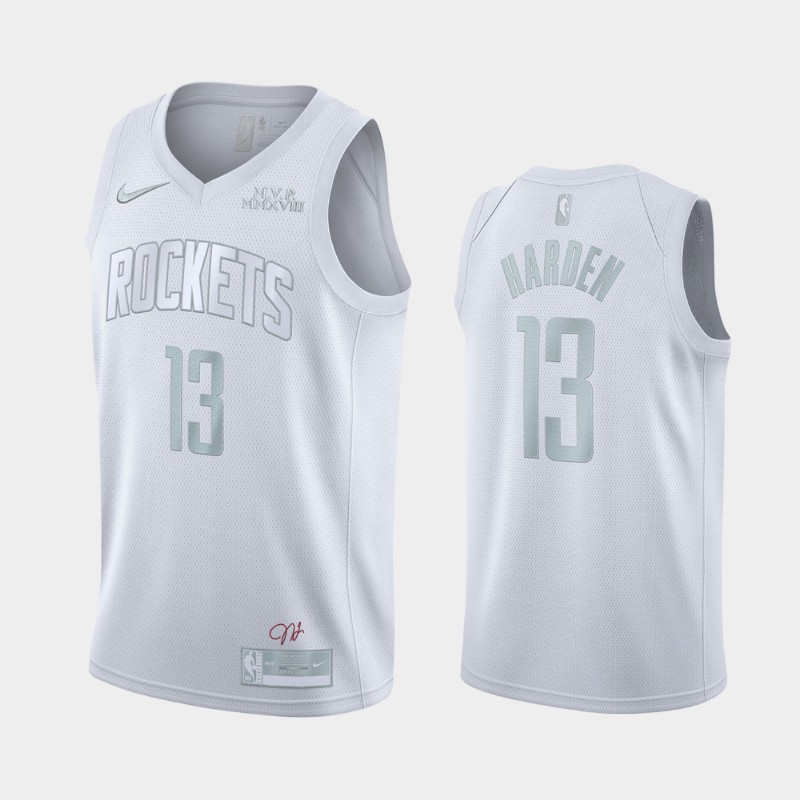 Houston Rockets James Harden MVP Jersey - White
