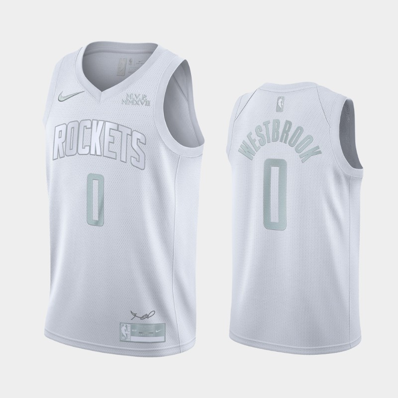 Houston Rockets Russell Westbrook MVP Jersey - White
