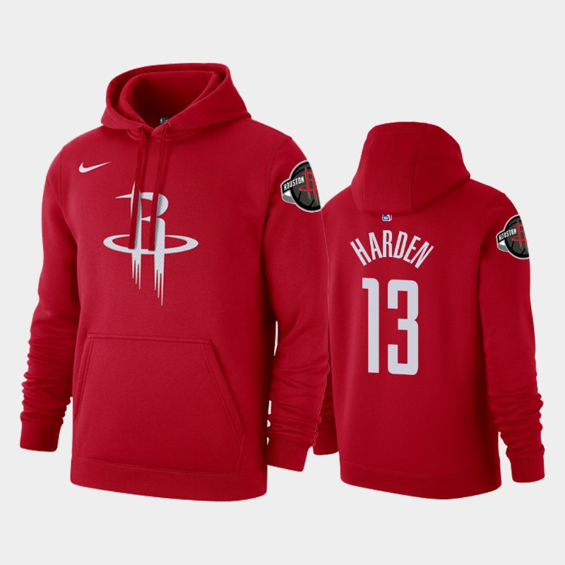 Houston Rockets James Harden Icon Pullover Hoodie - Red