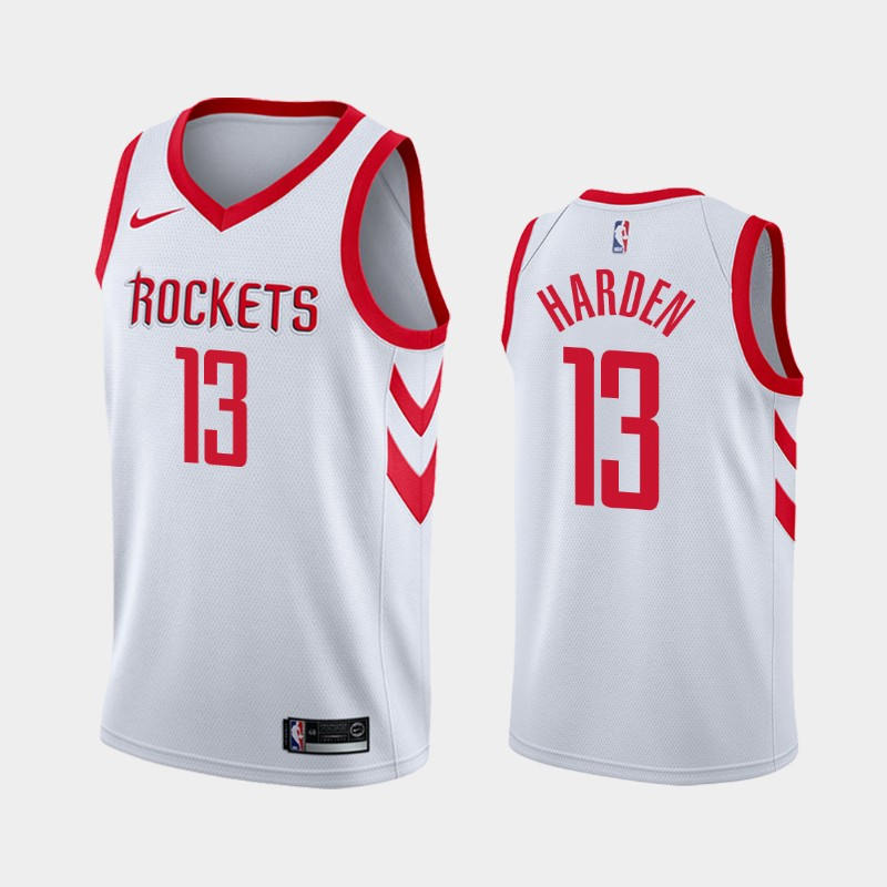 James Harden Houston Rockets Association Jersey White