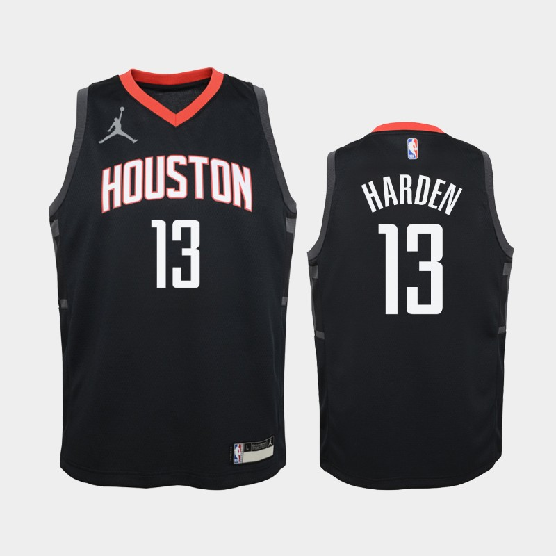 Youth 2020-21 Rockets James Harden Statement Red Jordan Brand Jersey
