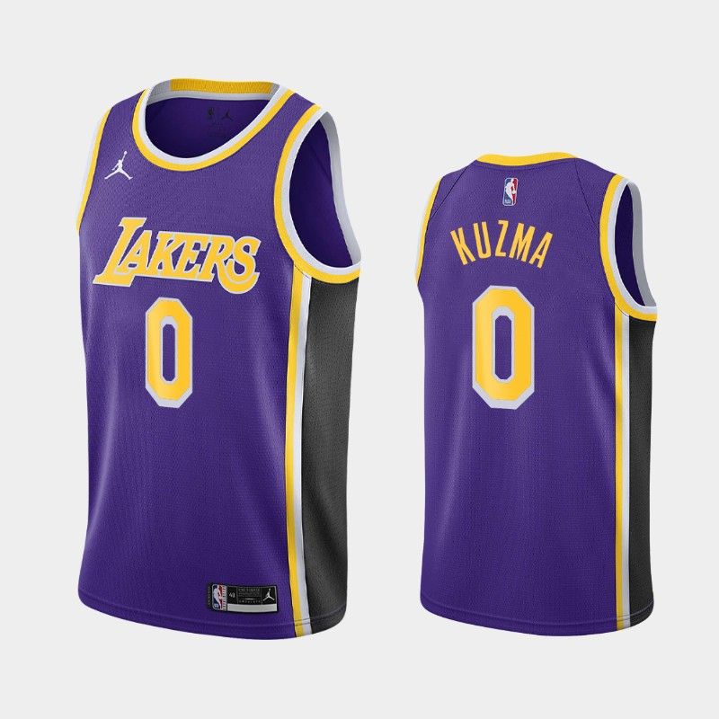 Los Angeles Lakers Kyle Kuzma 2020-21 Statement Jersey - Purple