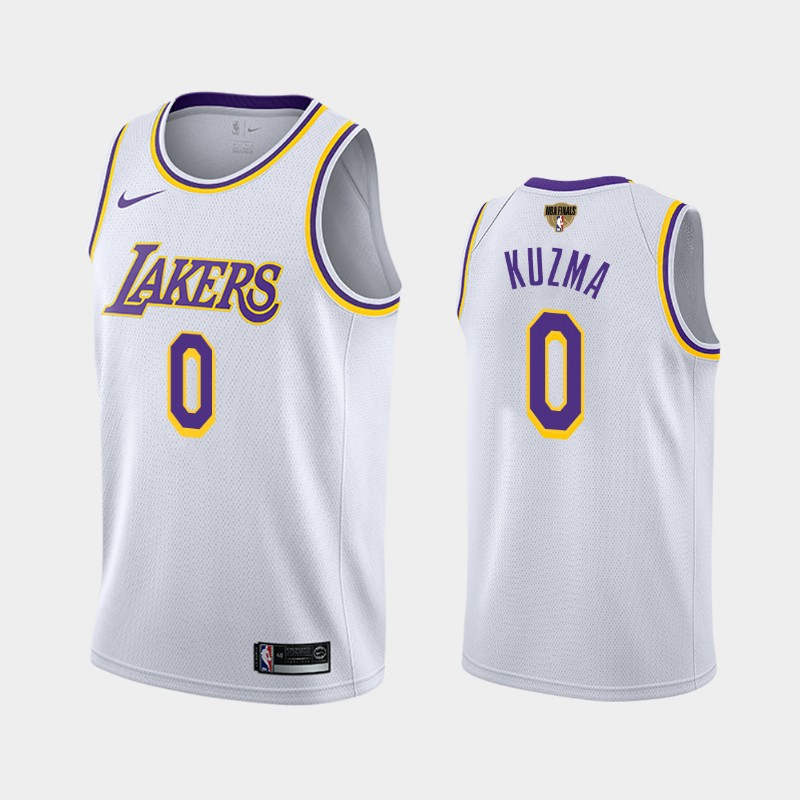 Kyle Kuzma Lakers 2020 NBA Finals Bound White Association Jersey