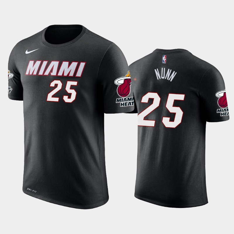 Kendrick Nunn Miami Heat Black Icon T-Shirt