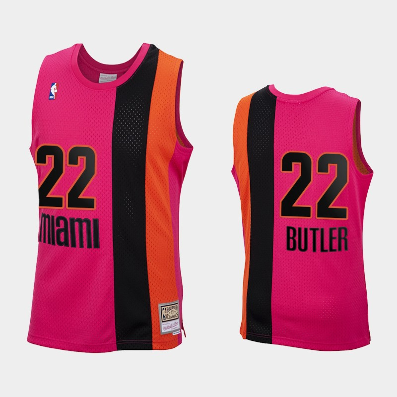 Reload Miami Heat Jimmy Butler Pink Hardwood Classics Jersey