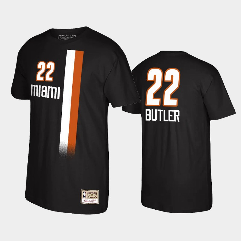 Jimmy Butler Miami Heat Black Reload Name & Number T-Shirt