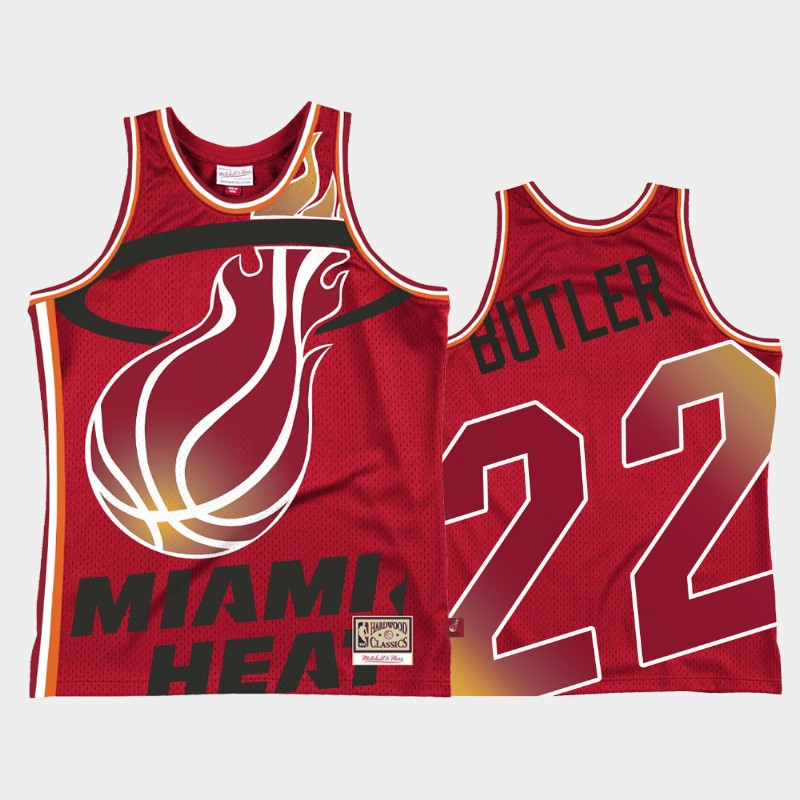 Heat Jimmy Butler Blown Out Red Jersey
