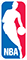 NBA Official Licensed Apparels Shop Footer Logo