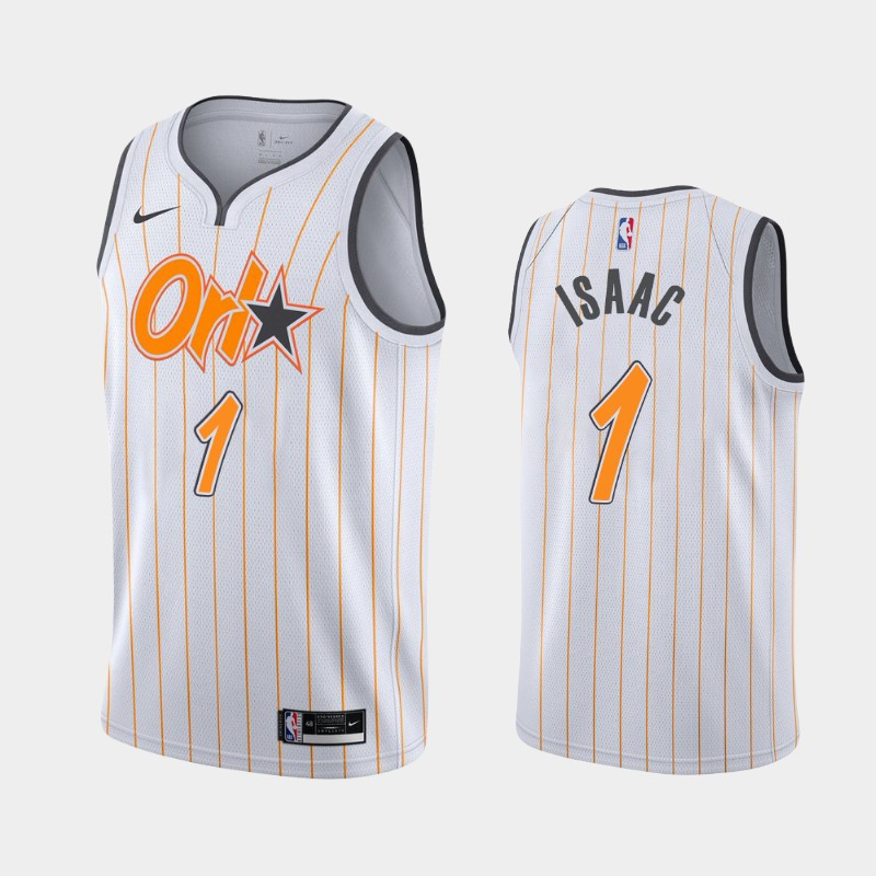 Orlando Magic Jonathan Isaac 2020-21 City Jersey - White