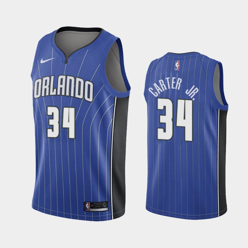 Orlando Magic Wendell Carter Jr. 2021 Icon Jersey - Blue