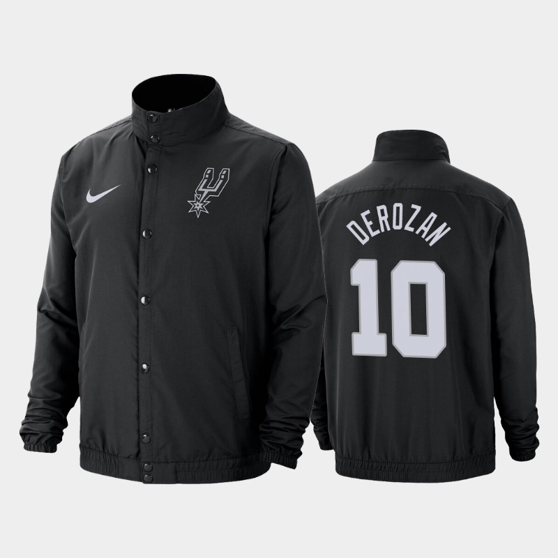 DeMar DeRozan San Antonio Spurs DNA City Edition Lightweight Jacket - Black