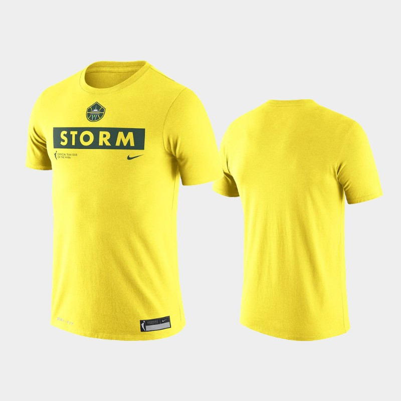 Seattle Storm Yellow Practice T-Shirt