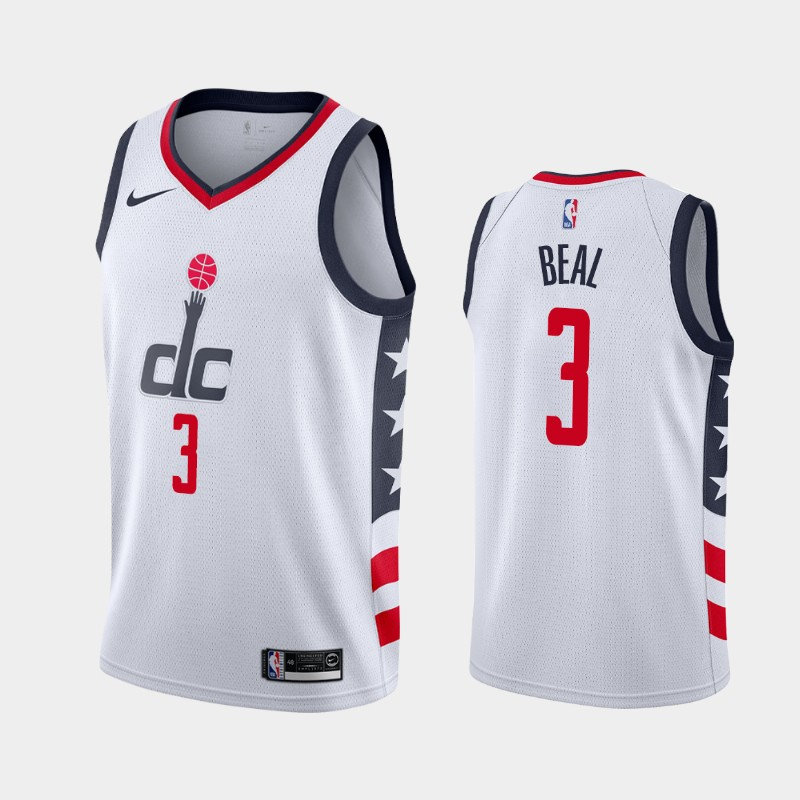 Washington Wizards Bradley Beal 2019-20 City Jersey - White